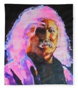 David Crosby Fleece Blanket