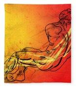 David Fleece Blanket