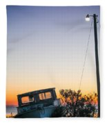 Davis Aground Fleece Blanket