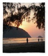 Dawn By The Sea 06 Fleece Blanket