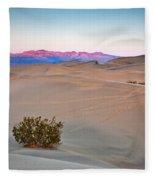 Dawn Dunes Fleece Blanket