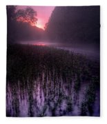 Dawn Mist Fleece Blanket