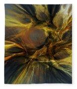 Dawn Of Enlightment Fleece Blanket