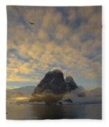 Dawn Over The Lemaire Fleece Blanket