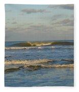 Day At The Ocean Fleece Blanket