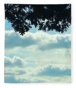 Day Dreaming With Clouds Fleece Blanket