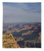 Daybreak At The Canyon Fleece Blanket