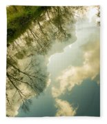 Daydreaming On The Canal Fleece Blanket