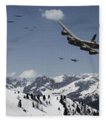 Daylight Raid Fleece Blanket