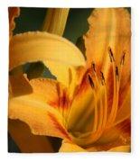 Daylillies0185 Fleece Blanket