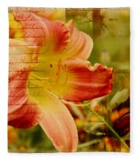 Daylily Memories Fleece Blanket