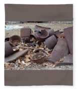 Days Gone By Fleece Blanket