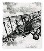 De Havilland Airco Dh.4 Fleece Blanket