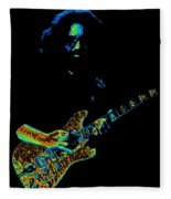 Dead #32 Enhanced Cosmic Colors 3 Fleece Blanket