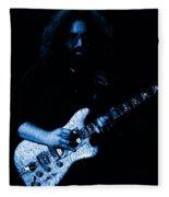 Dead #32 In Blue Fleece Blanket