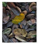 Dead Leaves Fleece Blanket