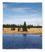 Dead Pond Fleece Blanket