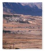 Dead Sea Fleece Blanket