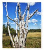 Dead Trees Fleece Blanket