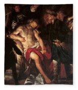 Death Of Cato Fleece Blanket