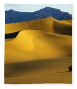 Death Valley California Gold 6 Fleece Blanket