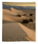 Death Valley Mesquite Flat Sand Dunes Img 0177 Fleece Blanket