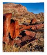 Death Valley Truck Fleece Blanket