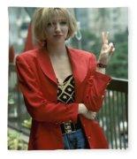 Debbie Gibson Fleece Blanket