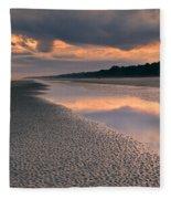 Island Evening Fleece Blanket