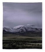 December In Orovada 1 Fleece Blanket