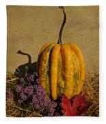 Decorative Gourd  Fleece Blanket
