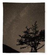 Deep Deep Deep Into The Night  Fleece Blanket