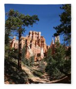 Deep In The Bryce Canyon Fleece Blanket