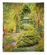 Deep In The Forest Fleece Blanket