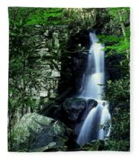 Deep In The Mountains Fleece Blanket