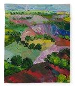 Deep Ridge Red Hill Fleece Blanket