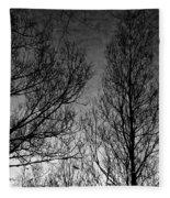 Deep Sky Fleece Blanket