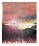 Deep Space Fantasy Fleece Blanket