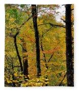 Deep Woods Fleece Blanket