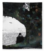 Deeply Rooted Fleece Blanket