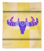 Deer 2 Fleece Blanket