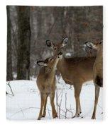 Deer Affection Fleece Blanket