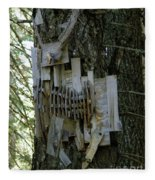 Deer Blind 01 Fleece Blanket