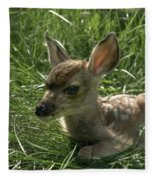 Deer Fawn Fleece Blanket