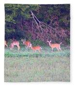 Deer-img-0128-005 Fleece Blanket