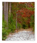 Deer Trail Fleece Blanket