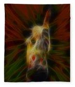 Def Leppard-adrenalize-joe-gb22-fractal-1 Fleece Blanket
