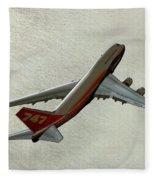 Definition - Boeing 747 Fleece Blanket