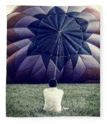 Deflated Fleece Blanket
