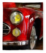 Delahaye 235 - Automobile   Fleece Blanket
